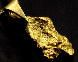 GOLD NUGGET PENDANT   2.12 GRAMS LGN 867