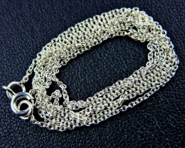 NECKLACE SILVER CHAIN 925 CHAIN 55CM CMT 17