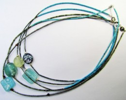 Trade deal 5 Roman Glass necklaces MJA 771