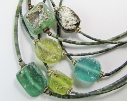 Trade deal 6 Roman Glass necklaces MJA 769