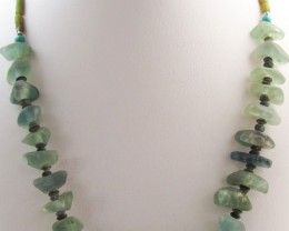 300 Cts  Roman Glass necklaces MJA1155