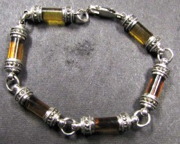 HEAVY BALTIC    AMBER SILVER   BRACLET  108  TCW    MYG 748