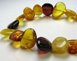30 CTS NATURAL  BALTIC AMBER BRACELET  MGMG208