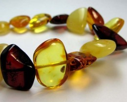 37 NATURAL  BALTIC AMBER BRACELET  MGMG 210