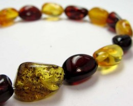 22 cts NATURAL  BALTIC AMBER BRACELET  MGMG217