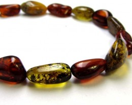 22 cts NATURAL  BALTIC AMBER BRACELET  MGMG230