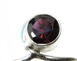 Cute Natural Garnet Ring Size 8  JGG 106