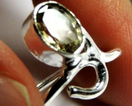 Cute Natural Citrine   Ring Size 9  JGG 131