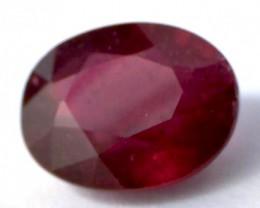 2.80 Pretty Red Oval Ruby, MA1638