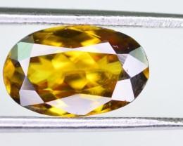 Rare 2.30 ct world class luster Untreated Sphene aka Titanite