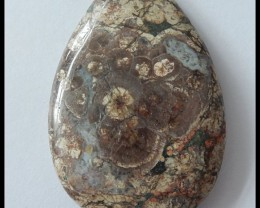 Natural Rhyolite Gemstone Bead