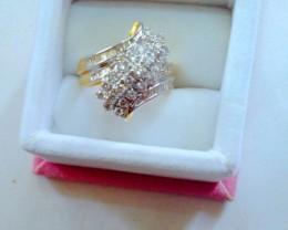NATURAL-YELLOW-18kGOLD DIAMOND-ENGAGEMENT RING