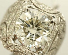 5.03ct  DIAMOND RING 18K