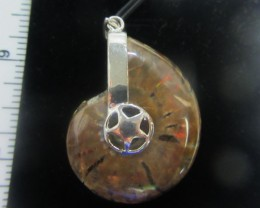 82 CTS AMMONITE PENDANT FROM MADAGASCAR MGMG 411