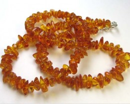 75 CTS NATURAL  BALTIC AMBER NECKLACE 44 CM  MGMG236
