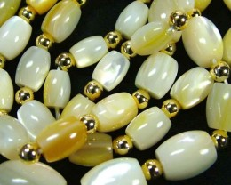 MOTHER PEARL STRAND 177.40 CTS [SJ673]