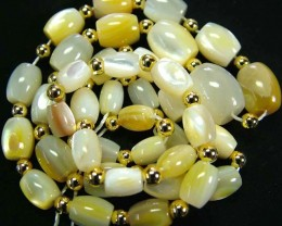 MOTHER PEARL STRAND 179.20 CTS [SJ678]