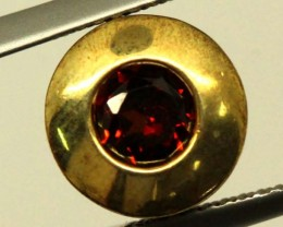 GARNET GOLD LATED SILVER PENDANT 4.35 CTS LJ-85