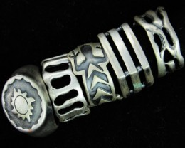 Pewter Rings 5 Mixed designs   PE45