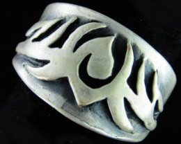 Design Pewter Ring   PE35