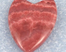 Fabulous Rhodochrosite Pendant  Fancy Cut 48 x 32 mm RB-08