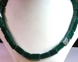 AGATE NECKLACE  BEAD STRAND   11 153