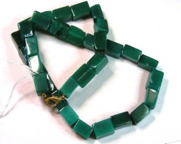 AGATE NECKLACE  BEAD STRAND   11 152