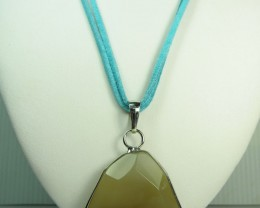 NATURAL CRYSTAL DRUSY AGATE  PENDANT   QT387