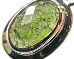 MOLDIVATE PENDANT FACETED -SILVER 10.80 CTS [SJ782]