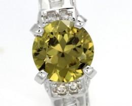NATURAL AUSTRALIAN SAPPHIRE 18K GOLD [SJ4328]