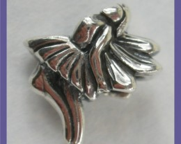 """""""BEAD PENDANT OR CHARM - STERLING SILVER PRETTY LITTLE FAIRY"""""""