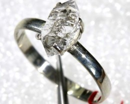 QUARTZ RING LIKE HERKIMER DIAMONDS  8.20CTS  TBJ-783