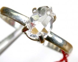QUARTZ RING LIKE HERKIMER DIAMONDS 8.80 CTS  TBJ-794