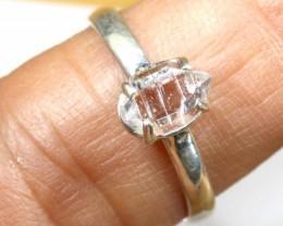 QUARTZ RING LIKE HERKIMER DIAMONDS 7 CTS  TBJ-795