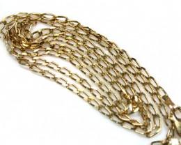5.8 Grams 18K  GOLD   CHAIN  5.8  GRAMS  L614