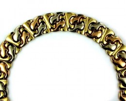 85.2 grams  STUNNING BEAUTIFUL 18k Solid Gold Chain 85.2 GRAMS L253