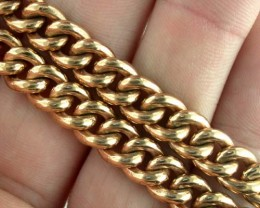 94.4 Grams HEAVY 9k Solid Gold Chain 94.4 GRAMS L236