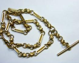 47.8 grams 9 K GOLD CHAIN 47.80      GRAMS    L 417