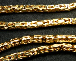 84 Grams  9 K GOLD CHAIN    84    GRAMS    L 428