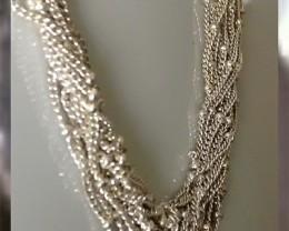 Necklace and Bracelet Set ~ 925 SS ~ Simple Elegance