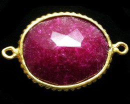 34.92 CTS LARGE RUBY-COLOUR ENHANCED /ELECTROPLATED [SJ2544]