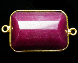 56.72 CTS LARGE RUBY-COLOUR ENHANCED /ELECTROPLATED [SJ2552]