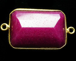 52.93 CTS LARGE RUBY-COLOUR ENHANCED /ELECTROPLATED [SJ2554]