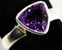 7 SIZE  AMETHYST RING SILVER  FACTORY DIRECT [SJ3113]