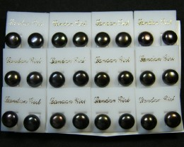 PARCEL 12 PAIRS SOUTH CHINA SEAS PEARL EARRINGS SGS 812
