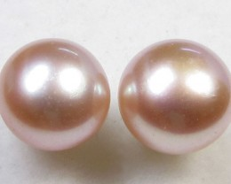 7-7.5 MM DIAM 14 K GOLD PEARL EARRING STUD TP 14