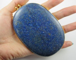 MASSIVE LAPIS PENDANT OR FOCAL STONE  11 079