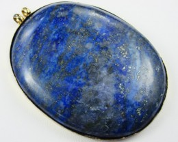 MASSIVE LAPIS PENDANT OR FOCAL STONE  11 169