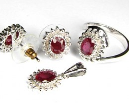 STUNNING  RUBIES AND DIAMONDS   90758