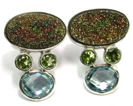 EARRING GEMSTONES-DIRECT FROM FACTORY 48.10 CTS [SJ1238]